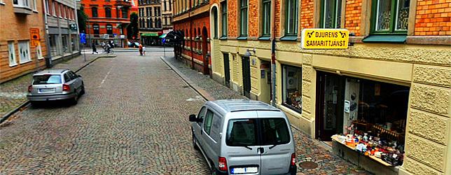 Djurens Samarittjänsts Loppisbutik - Frigångsgatan 2, Haga, Göteborg